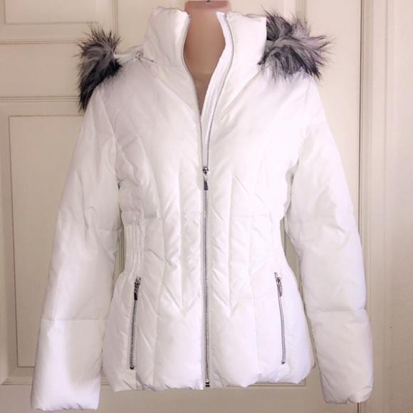 Braetan Jackets & Blazers - BRAETAN White Puffer Jacket